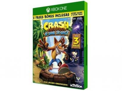 Crash Bandicoot NSane Trilogy para Xbox One - Activision