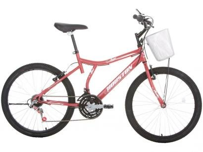Bicicleta Houston Bristol Peak Aro 24 - 21 Marchas Freio V-Brake