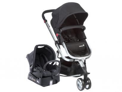 Carrinho de Bebê Passeio Safety 1st Travel System - Mobi TS para Crianças até 15kg com Bebê Conforto