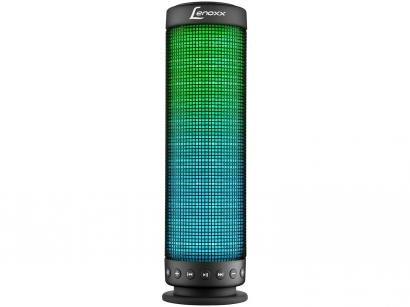 Caixa de Som Bluetooth Portátil Lenoxx BT 503 20W - Ativa USB MP3 Iluminação LED