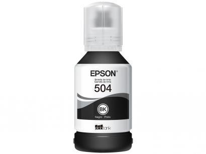 Garrafa de Tinta Epson T504 Preto - Original