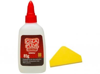 Cola para Quebra-Cabeça Grow - Cola Puzzle Brilhante 85g
