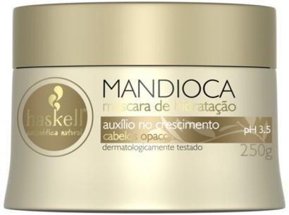 Máscara para Cabelo Hidratante Haskell Mandioca - Auxílio no Crescimento 250g
