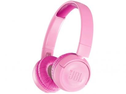 Headphone/Fone de Ouvido Bluetooth JBL - com Microfone Infantil Pink JR300BT