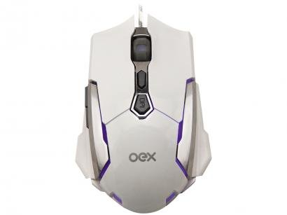 Mouse Gamer Sensor Óptico 4000dpi OEX - Robotic MS308