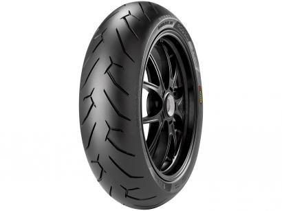 "Pneu Moto Aro 17"" Traseiro Pirelli 140/70 66H(R) - Sport Diablo Rosso II"
