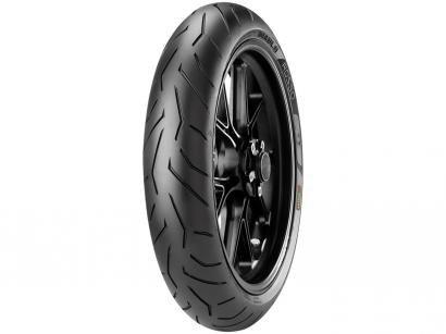 "Pneu Moto Aro 17"" Dianteiro Pirelli 120/70 58W(K) - Sport Diablo Rosso II"
