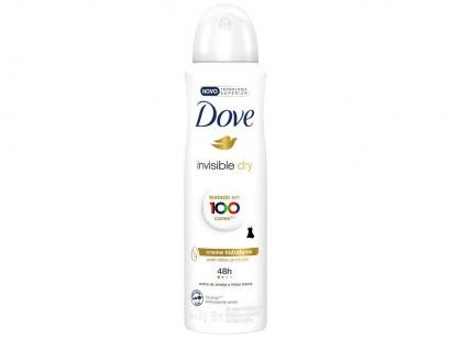 Desodorante Aerosol Antitranspirante Feminino - Dove Invisible Dry 150ml