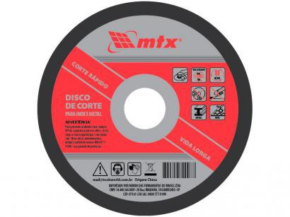 Disco de Corte 180x1,6x22mm MTX - 7378155