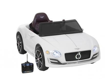 Carro Elétrico Infantil Bentley com Controle - Remoto 2 Marchas Emite Sons Farol 6V Bel Fix