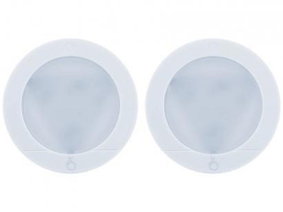 Kit Spot Lâmpada de LED de Sobrepor Redonda - Branca GE 38128