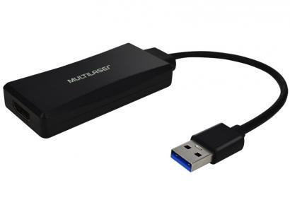 Adaptador USB para HDMI 23cm Multilaser - WI347