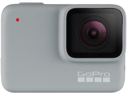 "GoPro Hero 7 White À prova de Água 10MP Wi-Fi  - Bluetooth Display 2"" Touch"