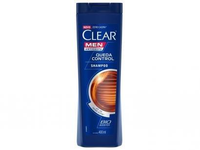 Shampoo Clear Anticaspa Queda Control - 400ml