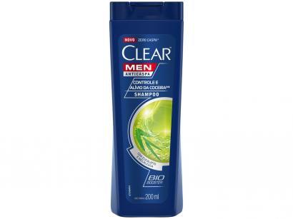 Shampoo Clear Anticaspa  - Controle e Alívio da Coceira 200ml