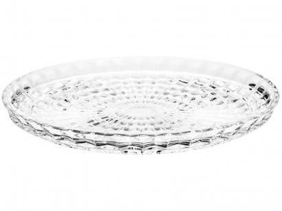 Prato Para Bolo de Cristal Wolff Rendondo - Diamond
