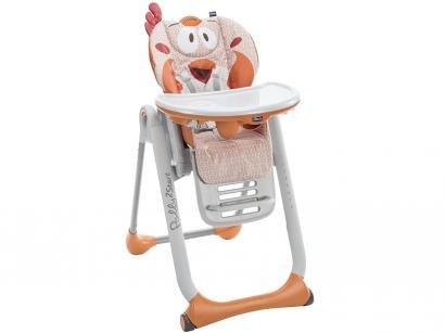 Cadeira de Alimentação Portátil Chicco  - Polly 2 Start Fancy Chicken 8 Posições de Altura