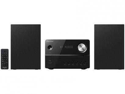 Micro System Pioneer USB CD Player Rádio AM/FM - 10W 2 Caixas XEM26