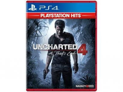 Uncharted 4: A Thiefs End para PS4  - Naughty Dog