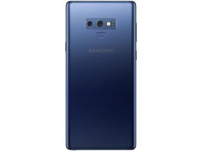 "Smartphone Samsung Galaxy Note 9 128GB Azul 4G - 6GB RAM Tela 6,4"" Câm. Dupla + Câm. Selfie 8MP"