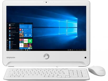 "Computador All in One Positivo UNIONi3 41TA - Intel Core i3 4GB RAM 1TB LED 18,5"" Windows 10"