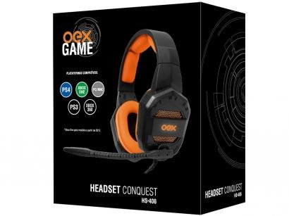 Headset Gamer OEX  - Conquest HS406