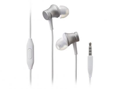 Fone de Ouvido Xiaomi XM280PRA Intra-auricular - com Microfone Esportivo Prata