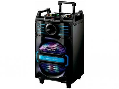 Caixa de Som Mondial Connect DJ Controller - CM-09 Ativa Amplificada