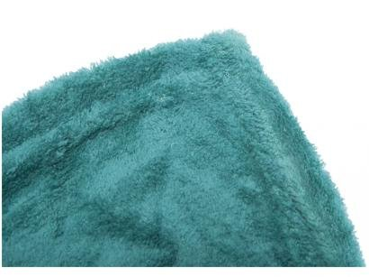 Manta Queen Microfibra Camesa  - Verde Folha