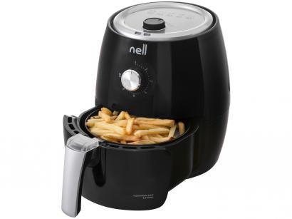 Fritadeira Elétrica sem Óleo/Air Fryer Nell Smart - Preto 2,4L com Timer