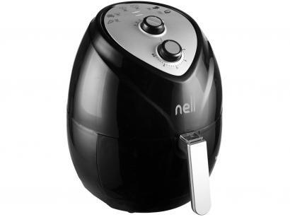Fritadeira Elétrica sem Óleo/Air Fryer Nell Fit - Preto 3,2L com Timer
