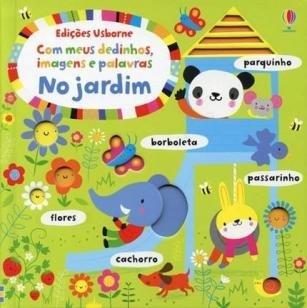 Livro - Com meus dedinhos, imagens e palavras no jardim -