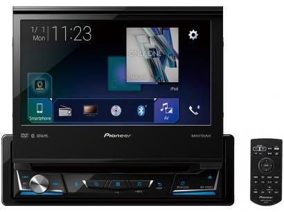"DVD Automotivo Pioneer AVH-Z7180TV com Bluetooth - LCD Tela Retrátil 7"" Touch TV Digital 23W RMS USB"