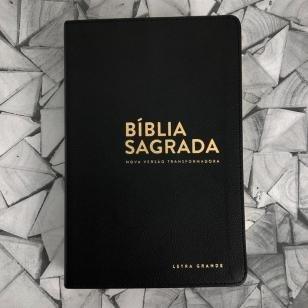 Livro - Bíblia NVT - LG (Letra grande) - Preta