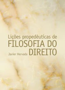 Livro - Lições propedêuticas de filosofia do direito -