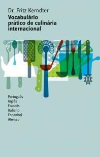 Livro - Vocabulário pratico de culinária internacional -