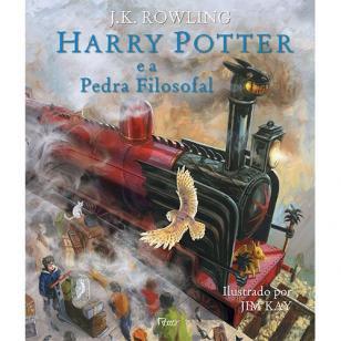 Livro - Harry Potter e a pedra filosofal - Edição ilustrada -