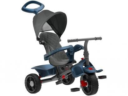 Triciclo Infantil Smart 1310 com Empurrador - com Capota Bandeirante