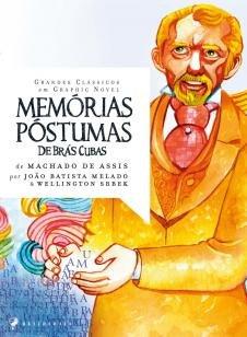 Livro - Memórias póstumas de Brás Cubas em graphic novel -