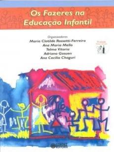 Livro - Os fazeres na educação infantil -