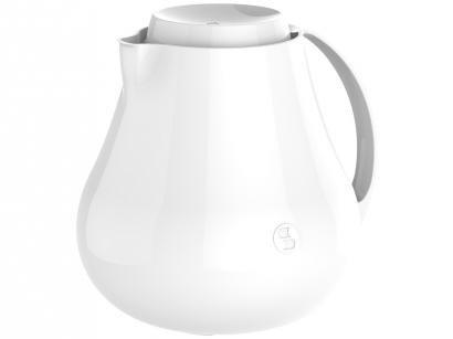 Bule de Chá e Café Térmico Branco 400ml Soprano - Sonetto