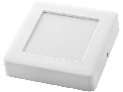 Plafon LED Quadrado Branco 18W 1 Lâmpada - Tramontina 58026305