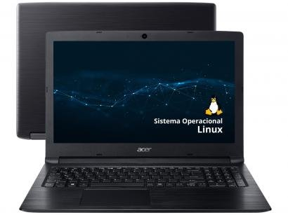 """Notebook Acer Aspire 3 A315-33-C58D - Intel Dual Core 4GB 500GB 15,6"""" Linux"""