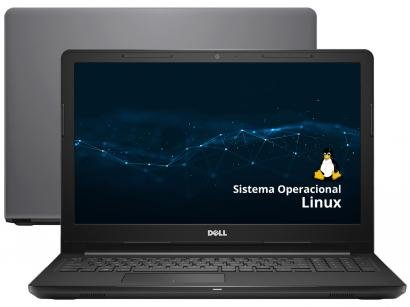 """Notebook Dell Inspiron 15 3000 i15-3567-D30C - Intel Core i5 4GB 1TB 15,6"""" Linux"""