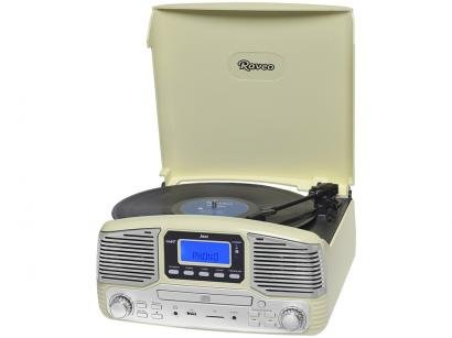 Vitrola Raveo Jazz Blueooth  - CD Player