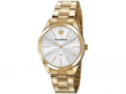Relógio Feminino Mondaine Analógico - 53802LPMGDE2 Dourada
