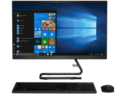 "Computador All in One Lenovo IdeaCentre A340-24IWL - Intel Core i3 4GB 1TB LED 23,8"" Windows 10"