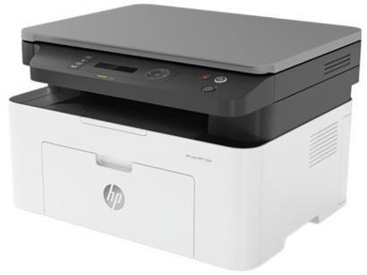 Impressora Multifuncional HP Laser 135W - Preto e Branco Wi-Fi USB