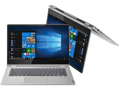 "Notebook 2 em 1 Lenovo Ideapad C340-14IWL  - Intel Core i7 8GB SSD 256GB Touch Screen 14"""