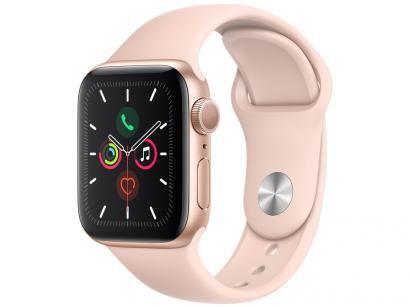 Apple Watch Series 5 40mm GPS Integrado Wi-Fi - Pulseira Esportiva 32GB